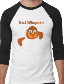 No.1 Wingman | Broken Wing Men's Baseball ¾ T-Shirt