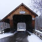 Squam River Covered Bridge by JBTHEMILKER