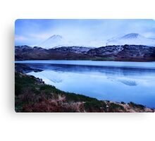snowy mountains-Kerry Canvas Print