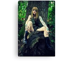Army Tough Canvas Print