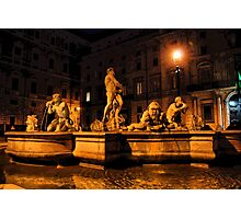 La Fontana del Moro Photographic Print