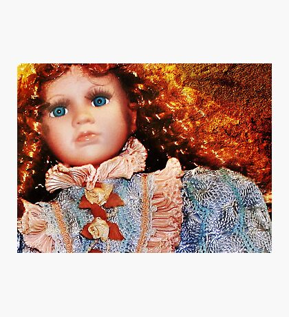 Doll in Blue Photographic Print