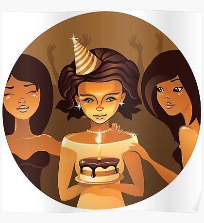 birthdays party Poster