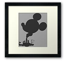 It All Started with a Mouse Framed Print