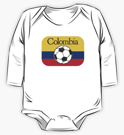 Colombia Football One Piece - Long Sleeve