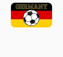 German Flag with Football T-Shirt