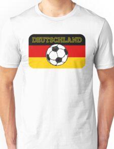 Deutschland flag   Football Unisex T-Shirt