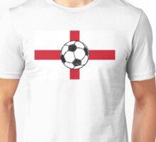 England Flag | Football Ball Unisex T-Shirt