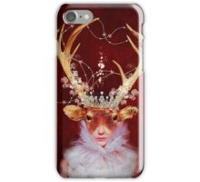 red princess iPhone Case/Skin