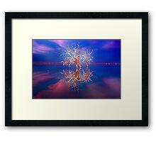 Paradise of love Framed Print