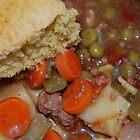 Corn Bread And Crock Pot Hamburger Stew by Jonice