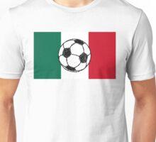 Flag of Mexico | Soccer ball Unisex T-Shirt