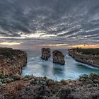 Loch Ard Gorge  Victoria  Australia by William Bullimore