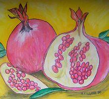 Pomegranates by Alexandra Felgate