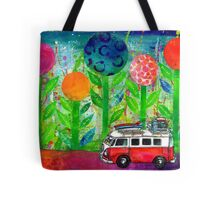 Recovery road - journey in a kombi van Tote Bag