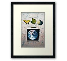 Mother and Children Framed Print