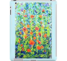 Flowers - original abstract painting iPad Case/Skin