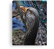 Mother Goose Canvas Print