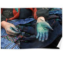 Our Hands are Dyed Poster