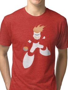 Project Silhouette 2.0: Fireman Tri-blend T-Shirt