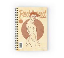 RedHead Notebook Version 1 Spiral Notebook