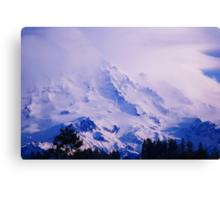 Lavender Rainier Canvas Print
