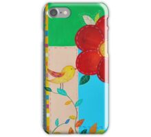 Birds in the Garden #2  iPhone Case/Skin