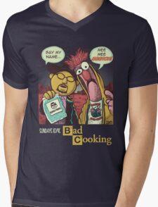 Bad Cooking Mens V-Neck T-Shirt