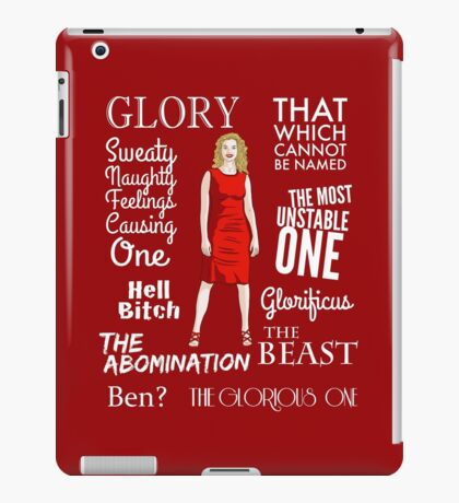 Glorificus - Buffy the Vampire Slayer iPad Case/Skin