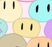 Great Dango Family, Clannad, Dango Daikazoku, Nagisa Furukawa, Ushio, Tomoyo, Fuko, Dango Family Sticker