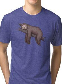 Sleepy Sloth Tri-blend T-Shirt