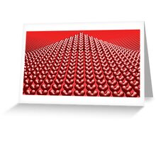 Ride The Wave Of Love Greeting Card
