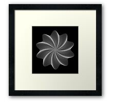 Polar Flower V Framed Print