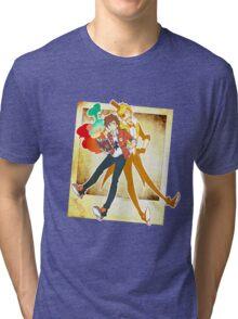 Gravity Falls - BillDip Tri-blend T-Shirt