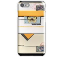 Letter Bundle: Clouded Yellow iPhone Case/Skin