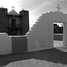 Taos Church 2006 by chrissylong