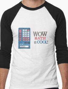 Math is COOL! Men's Baseball ¾ T-Shirt