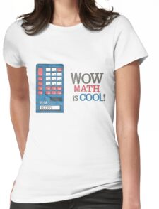 Math is COOL! Womens Fitted T-Shirt