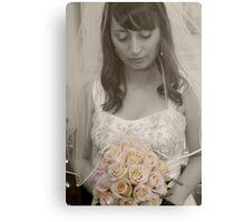 wedding day  Canvas Print