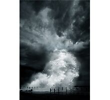 Xtreme Black 3 - Duel of Nature Photographic Print
