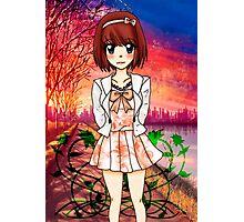 Sakura City Photographic Print