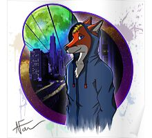 Like a Fox's Dream - Sig n' Splat Poster
