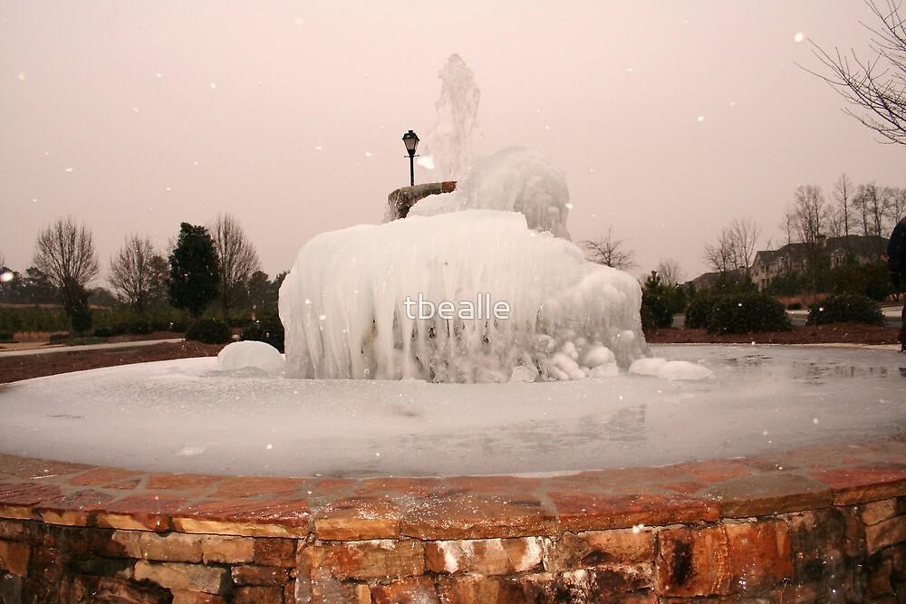~Frozen Fountain~ by Terri~Lynn Bealle