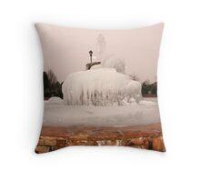 ~Frozen Fountain~ Throw Pillow