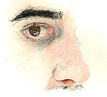 Eye Study by Stephen  Van Etten