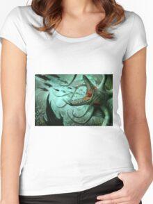 Dagon Women's Fitted Scoop T-Shirt