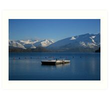 Lake Wanaka Art Print