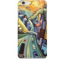 City landscape iPhone Case/Skin