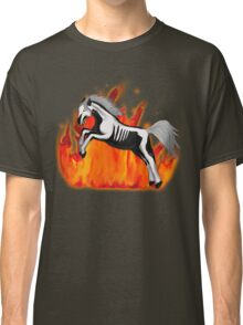 Skeleton Horse Classic T-Shirt