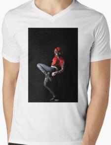 Apocalyptic Beauty Mens V-Neck T-Shirt